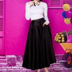 Chân váy xòe công sở Phương Trinh V027
