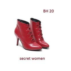 Giầy boot cao cấp, mẫu mã mới nhất mùa thu đông này - HB 19