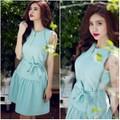 Đầm xòe đẹp thiết kế dễ thương như Phạm Quỳnh Anh M426