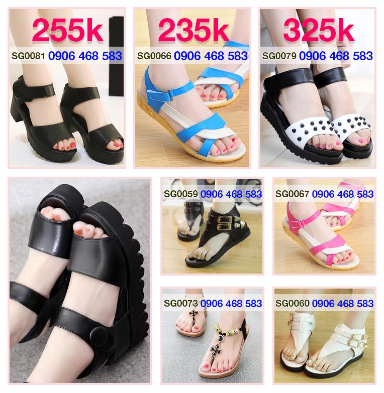 Sandal Nữ - SG0054 - Giày sandal cao gót sang trọng 3