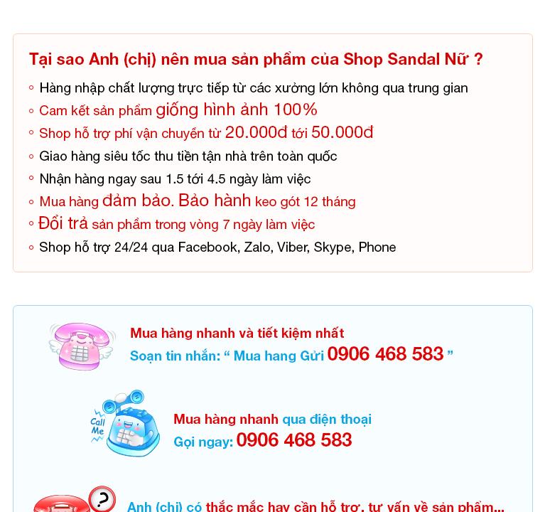 Sandal Nữ - SG0054 - Giày sandal cao gót sang trọng 1