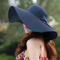 mũ nón rộng vành gấp gọn thời trang hàng nhập