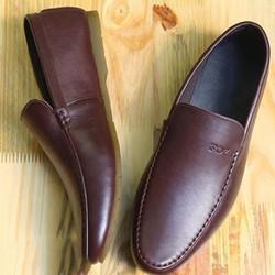 Giày lười da nam đẹp cực mềm mịn và êm chân