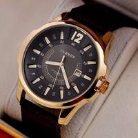 Đồng hồ CURREN vòng thước dây da CR004