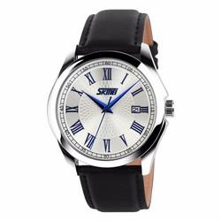 Đồng hồ nam dây da la mã SK033