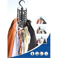 Combo 2 móc treo quần áo đa năng