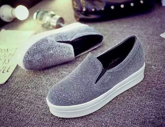 Giày slip on màu bạc – MS: G696-B 2