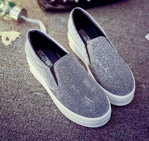 Giày slip on màu bạc – MS: G696-B 3