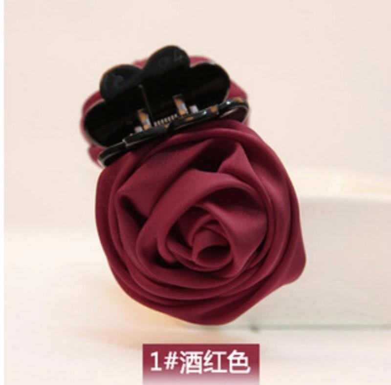 Ms439 kẹp tóc hoa hồng xinh xắn 1