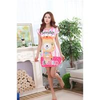 Đầm Ngủ Hoạt Hình Gấu Smile - MS440