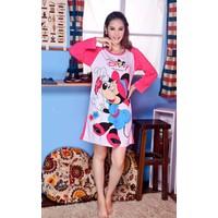 Đầm Ngủ Hoạt Hình Tay Dài Mickey - MS208