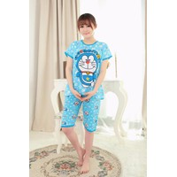 Bộ Đồ Mặc Nhà Họa Tiết Doraemon - MS428
