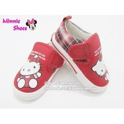 Giày lười Hello Kitty cho bé 1-4 tuổi GLHQ06