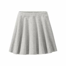 Uniqlo - Váy thun xám trơn