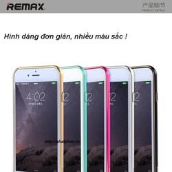 Ốp viền phone 6 REMAX Halo Metal Bumper khóa gài