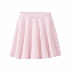 Uniqlo - Váy thun hồng trơn