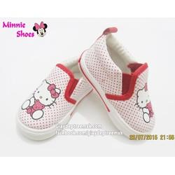 Giày lười Hello Kitty cho bé 1-4 tuổi GLHQ09