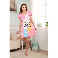 Váy Dễ Thương Thỏ Hồng - MS216