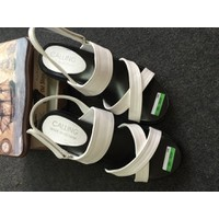 Giày sandals dây chéo đế bánh mì SDQN38