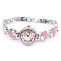 Đồng hồ Nữ lắc tay Kitty jw nơ hoa D0473-DHA149 - Kim Quay - Hồng