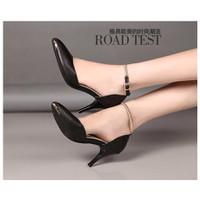 Hàng cao cấp:Giày cao gót quai lò xo VNXK