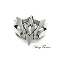 Nhẫn nam bạc cao cấp thiết kế độc đáo