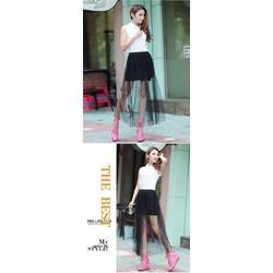 Đầm Style Đính Hạt Cườm