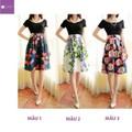 [LaiLa Fashion] Hàng nhập - chân váy hoa 4 mẫu 2015 VH1505