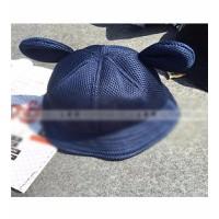 Nón phớt nữ tai gấu Mã: CP0013 - XANH