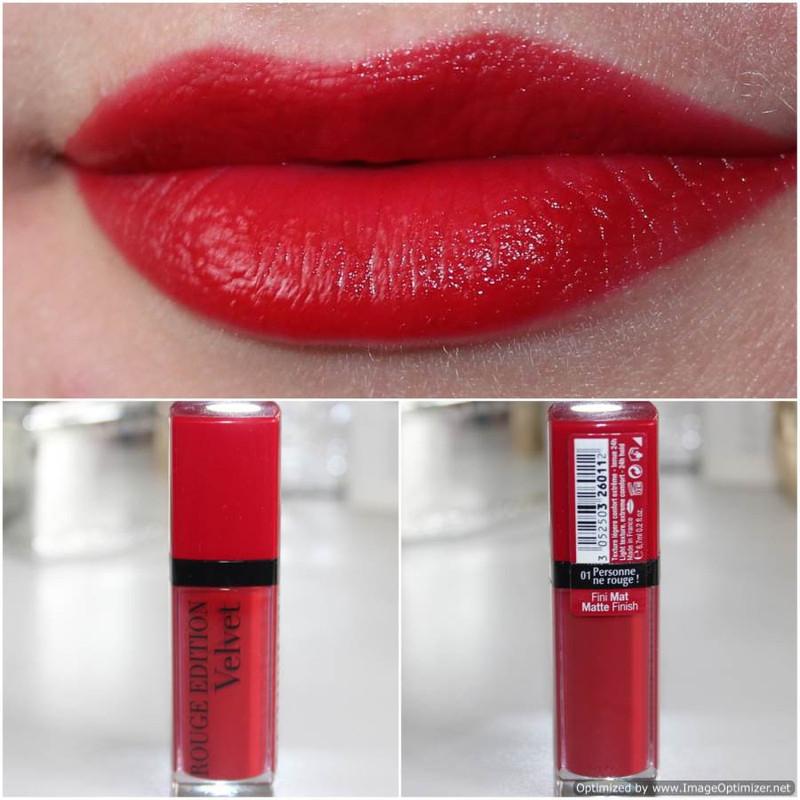 Son Bourjois Rouge Edition Velvet 3