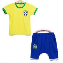 Bộ thun thể thao bóng đá mùa hè cho bé