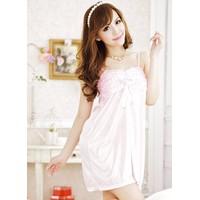 Váy Ngủ Gợi Cảm rẻ Lụa Nắng Hồng