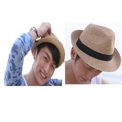 Mũ Nón nam thời trang  fedora phong cách châu âu