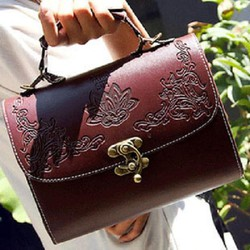 Túi xách nữ họa tiết dập nổi