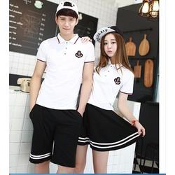 Shop Cún-Sale Off-Áo Thun Nam Nữ Cổ Sơ My Style Hàn Quốc
