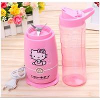 Máy xay sinh tố mini Hello Kitty