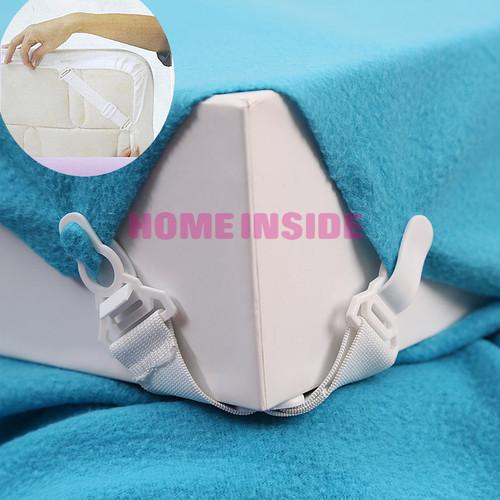 Bộ kẹp cố định drap giường gồm 4 kẹp cho 4 góc