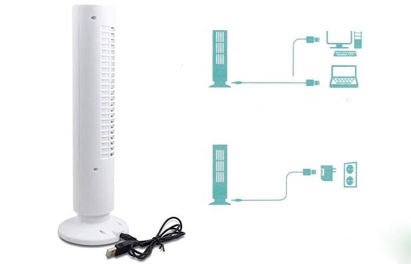 Quạt tháp Mini USB Tower Fan 6