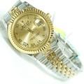 Đồng hồ Rolex nam đính đá sang trọng mạ vàng sang trọng,chống nước