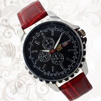 Đồng hồ KASI dây da mặt lọng 6 kim đồng hồ thiết kế vô cùng nam tính