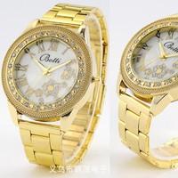 Đồng hồ thời trang Botti - Bông hoa mặt trời sáng lấp lánh chống nước