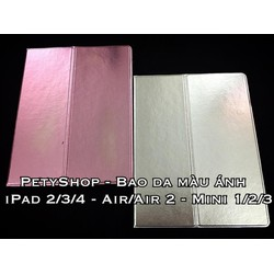 Bao da màu ánh iPad Air