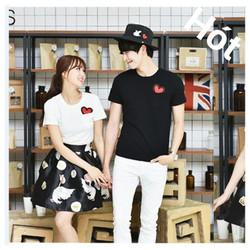 Shop Cún - Sale Off- Áo Cặp Nam Nữ Style Hàn Quốc