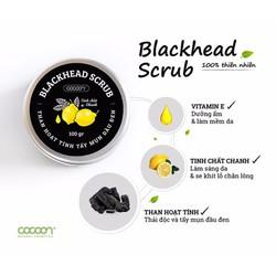 Than hoạt tính Cocoon - Blackhead Scrub