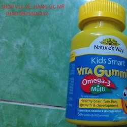 Kẹo dẻo Vita Gummies Omega3 Multi