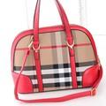 Túi xách thời trang sọc caro trang nhã cho bạn gái thêm nổi bật