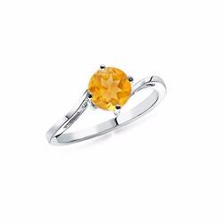 Nhẫn nữ đá Citrine NN0420