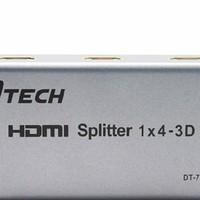 BỘ CHIA HDMI D-TECH 1-4