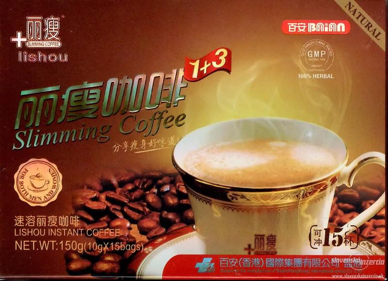 Cafe Giảm Cân Lishou Slimming Coffee BAIAN chính hãng thái lan 1