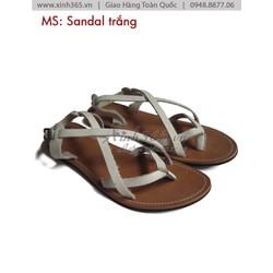 Giày Sandal Quai Chéo Cho Nữ